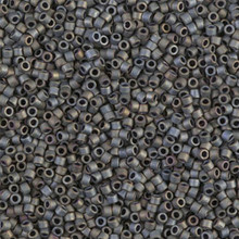 Delica Beads (Miyuki), size 11/0 (same as 12/0), SKU 195006.DB11-0307, matte metallic silver-grey