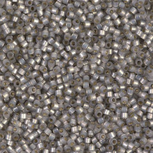 Delica Beads (Miyuki), size 11/0 (same as 12/0), SKU 195006.DB11-0630, light taupe alabaster silver lined (dyed), (10gr.)