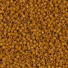 Delica Beads (Miyuki), size 11/0 (same as 12/0), SKU 195006.DB11-0653, dyed opaque pumpkin (color very unstable), (10gr.)