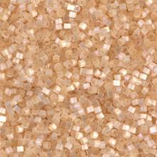 Delica Beads (Miyuki), size 11/0 (same as 12/0), SKU 195006.DB11-0674, cream silk satin, (10gr.)