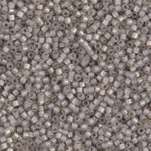 Delica Beads (Miyuki), size 11/0 (same as 12/0), SKU 195006.DB11-1456, light taupe opal silver lined, (10gram tube, apprx 1900 beads)