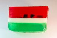 Watermelon glycerin soap