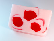 Strawberries & Cream glycerin soap