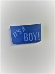 It's a Boy! glycerin soap
