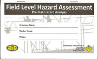 Field Level Hazard Assessment - Pre-Task
