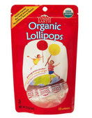 Yummy Earth Organic Fruit Lollipops, 3 oz.