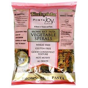 Tinkyada Brown Rice Gluten Free Pasta Vegetable Spirals