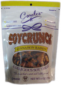 Carole's Soycrunch Cinnamon Raisin, 6 oz.