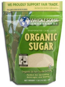 Wholesome Sweeteners Organic Sugar, 16 oz.