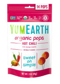 Yummy Earth Organic Hot Chili LolliPops, 3 oz