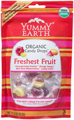 Yummy Earth Organic Candy Drops Assorted, Case of 6 x 3.3 oz.