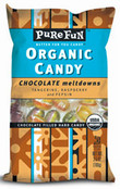 Pure Fun Organic Candy Chocolate Meltdowns, Case of 6 x 3.5 oz.
