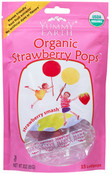Yummy Earth Organic Strawberry Pops, 3 oz.