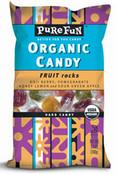 Pure Fun Organic Candy Fruit Rocks, Case of 6 x 3.5 oz.