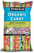 Pure Fun Organic Candy Mint Pinwheels, Case of 6 x 3.5 oz.