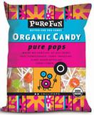 Pure Fun Organic Lollipop Suckers, Case of 6 x 4.5 oz.