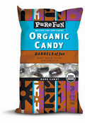 Pure Fun Organic Candy Root Beer Barrels, Case of 6 x 3.5 oz.