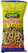 Landau Organic Oat Bran Pretzels Unsalted, 8 oz.