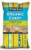 Pure Fun Organic Candy Citrus Slices, 3.5 oz.