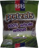 B&B 100% Whole Wheat Pretzels Traditional Style, 4 oz.