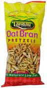 Landau Organic Oat Bran Pretzels Salted, 8 oz.