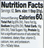 Madhava Organic Agave Nectar Light Nutrition Facts