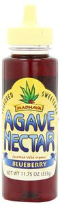 Madhava Organic Agave Nectar Blueberry Flavor