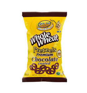 Shibolim Whole Wheat Pretzels Dipped in Dark Chocolate