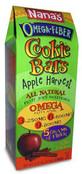 Nana's Omega Fiber Cookie Bars Apple Harvest, 6.17 oz.