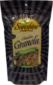 Sunshine Health Foods All Natural Chocolate Granola Snack, 10 oz.