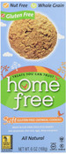 Home Free Soft Gluten Free Oatmeal Cookies, 6 oz.