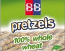B&B 100% Whole Wheat Pretzels Sesame Sticks, 24 oz.