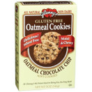 Glennys Gluten Free Oatmeal Cookies Chocolate Chip, 5 oz.
