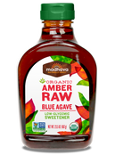 Madhava Organic Agave Nectar Amber Raw, 23.5 oz. (Pack of 12)
