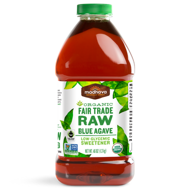 Madhava Raw Organic Agave Nectar, 46 oz