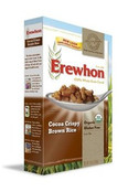 Erewhon Organic Gluten Free Cocoa Crispy Brown Rice Cereal, 10.5 oz.