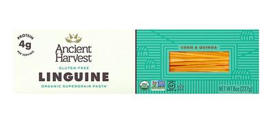 Ancient Harvest Organic Gluten Free Linguine Supergrain Pasta, 8 oz.