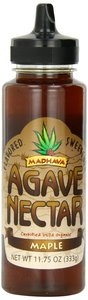 Madhava Organic Agave Nectar Maple Flavor