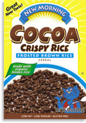 New Morning Cocoa Crispy Rice Cereal, 11 oz.