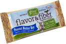 Gnu Flavor & Fiber Bar Peanut Butter, 1.6 oz. Pack of 5