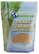 Wholesome Sweeteners Organic Turbinado Sugar, 24 oz.