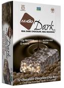 NuGo Dark Chocolate Chocolate Chip Protein Bar, 1.76 oz. (Pack of 12)