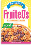 New Morning Organic Fruit-e-O's Cereal, 8 oz.