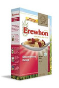 Erewhon Gluten Free Strawberry Crisp Cereal, Case of 6 x 10 oz