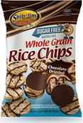 Shibolim Sugar Free Whole Grain Rice Chips Chocolate Coated