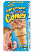 Let's Do Gluten Free Ice Cream Cones, 1.2 oz.