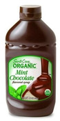 Santa Cruz Organic Mint Chocolate Syrup, 15.5 oz.