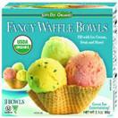 Let's Do Organic Waffle Bowls Ice Cream Cones, 3.1oz.