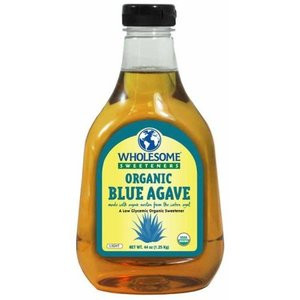 Wholesome Sweeteners Organic Blue Agave Nectar, 44 oz. (Pack of 4)