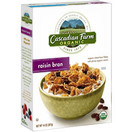 Cascadian Farm Organic Raisin Bran Cereal, 12 oz.